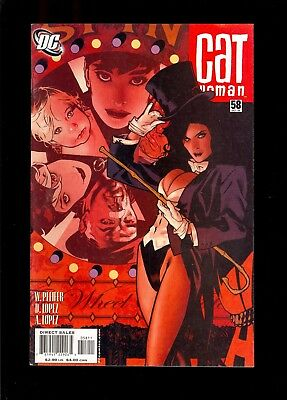 Catwoman #58 Very Fine  Adam Hughes Cover Art   2006 Dc    Comic Kings