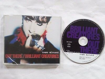 Marc Almond Out There / Brilliant Creatures Uk Cd Single Mercury Mercd444 1996