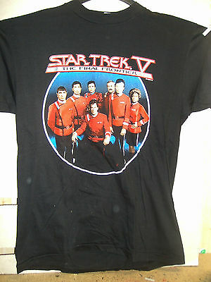Vintage T-Shirt: Star Trek V - The Final Frontier: Crew (XL) (USA,1992)