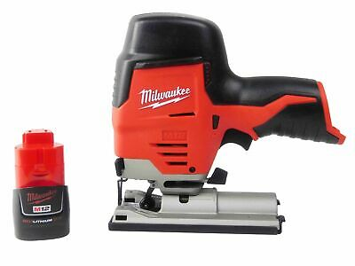 Milwaukee M12 2445-20 Cordless  Jig Saw 48-11-2420 2 Ah Battery
