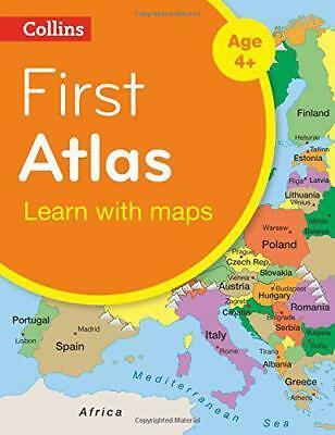Collins First Atlas: Collins Primary Atlases by Collins Maps | Paperback Book |