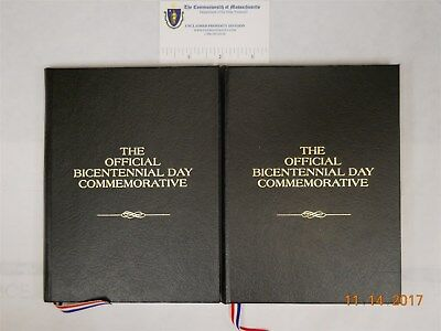 (2) The Official Bicentennial Day Commemorative Medal