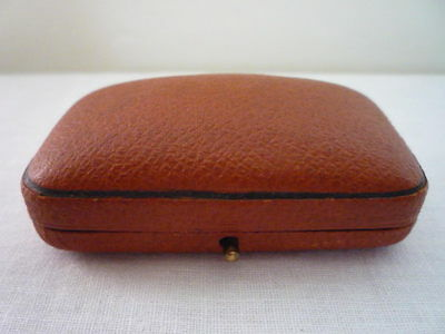 Quality Vintage Jewellery Box. Antique Jewelry Case. Old Antique Jewellers Box