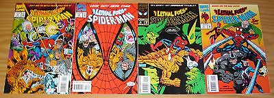 Lethal Foes of Spider-Man #1-4 VF/NM complete series RHINO & VULTURE deadly 2 3