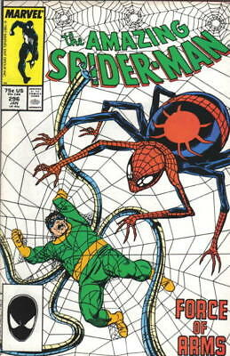 the Amazing Spider-Man Comic Book #296 Marvel Comics 1988 VERY FINE/NEAR MINT