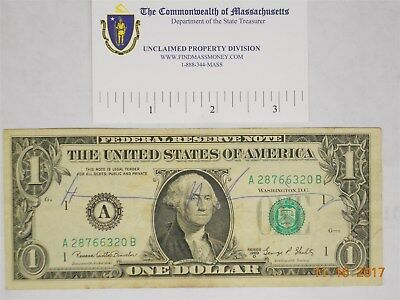 Non Authenticated Henry Kissinger Signed Bill