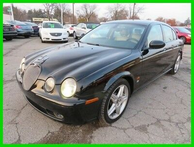 2003 Jaguar S-Type R Supercharged 2003 R Supercharged Used 4.2L V8 32V Automatic RWD Sedan Premium clean clear