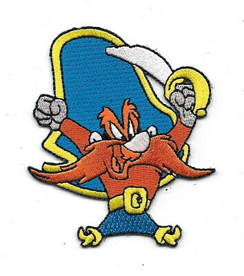 Looney Tunes Yosemite Sam Figure with Sword Embroidered Patch NEW UNUSED