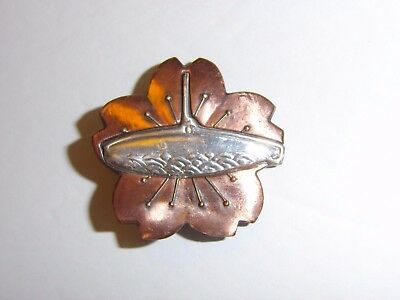 0307  WW 2 Japan Navy Japanese Submarine Badge R17C