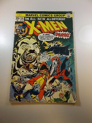 The Uncanny X-Men #94 1st Appearance of New X-Men in series Fair condition