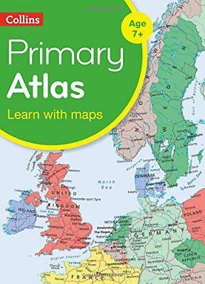 Collins Primary Atlas (Collins Primary Atlases) by Collins Maps | Paperback Book