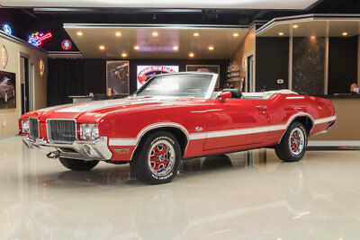 1971 Oldsmobile Cutlass Convertible Frame Off, Rotisserie Restored! Rocket 350 V8, TH350 Automatic, PS, PB, Pwr Top