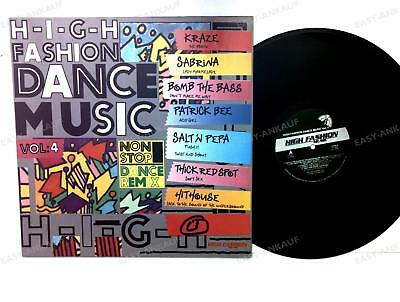 Various - High Fashion Dance Music Vol. 4 NL LP 1989 /2