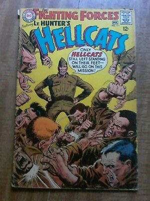 #111 OUR FIGHTING FORCES featuring LT. HUNTER'S HELLLCAT 1968