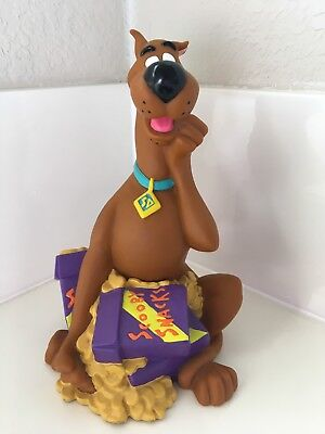 Applause Scooby Doo Coin Bank 1998 Scooby Snacks Piggy
