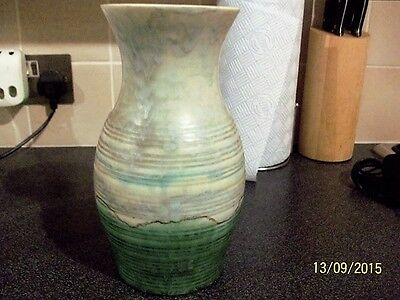 Beswick large vase 543 greens great design & shape, great condition