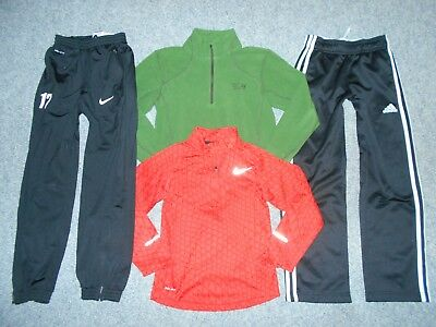 9 Under Armour Nike Etc  Youth Boys Small Athletic Shorts Pants Shirts Lot    B5