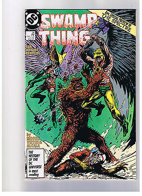Dc Comics Swamp Thing #58 March 1987 Vf