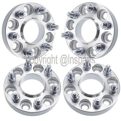 """4x 1"""" (25mm) 6x4.5 6x114.3 Wheel Spacers HUB CENTRIC Fits Nissan Frontier 6 Lug"""