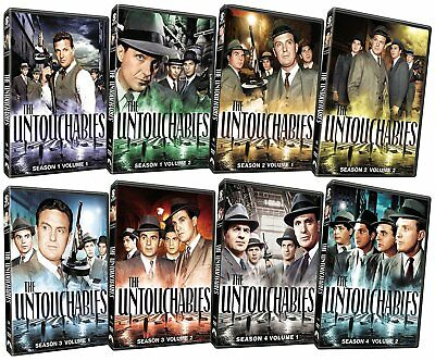 The Untouchables: The Complete Series (DVD, 2012, 31-Disc Set) *Brand New Sealed
