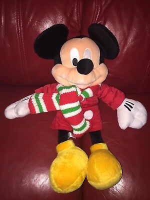 Disney Mickey Mouse Soft Toy  - SEE PHOTO - Disney Store 2010 Toy