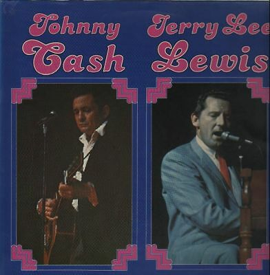 Johnny Cash and Jerry Lee Lewis Country Comeback NEAR MINT Bellaphon Vinyl LP