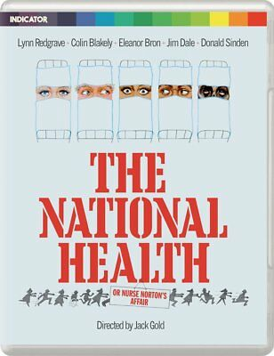 THE NATIONAL HEALTH Lynn Redgrave Colin Blakely BLURAY+DVD in Inglese NEW .cp