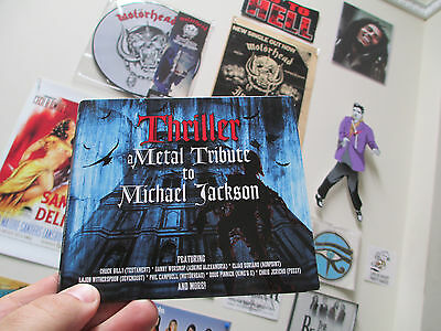 THRILLER A Metal Tribute To MICHAEL JACKSON CD Beat it Billy Jean Rock with you
