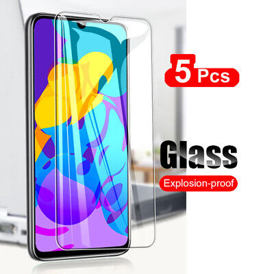 5Pcs 9H Tempered Glass Screen Protector Cover Film For Huawei Honor 6X 7 8 9 10