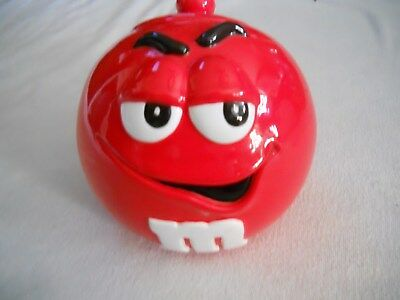 M&M'S Cookie Jar Red Character With Lid Galerie
