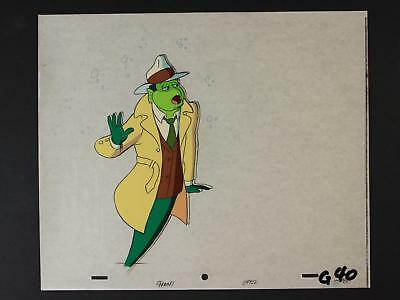 LOT of 2 1992 PRODUCTION CELS for TV SERIES FISH POLICE (Only Six Episodes made