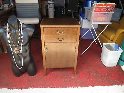 Vintage records 35 & 55 tapes stereo console  old Retro 50's