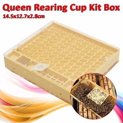 Bee Queen Rearing Cell Cupkit Box Case For Cupularve System Beekeeping Tool New