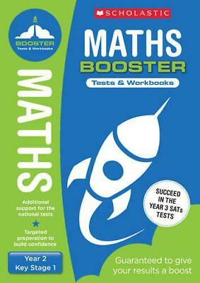 Maths Pack (Year 2) (National Curriculum SATs Booster Programme) by Hollin, Paul