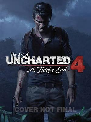 NEW The Art Of Uncharted 4: A Thief's End by Naughty Dog Studios BOOK (Hardback)