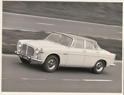 Rover 3.5 Litre Coupe Period Photograph.