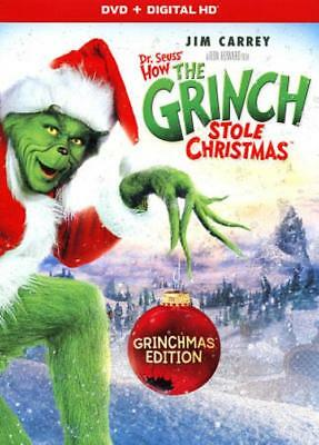 How The Grinch Stole Christmas New Dvd