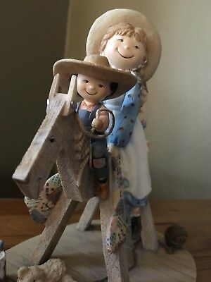 1998 Collectible Sawhorse Ride By Special Friends