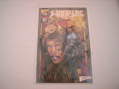 Witchblade / Tomb Raider : Issue #1/2 (Wizard Deluxe Foil Edition)