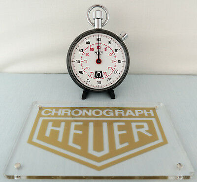 Heuer Ref. 542.201 Stoppuhr Stopwatch Chronograph Vintage Tag Heuer Revision
