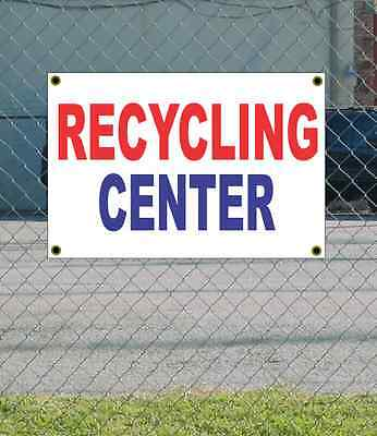 Roswell Recycling Center >> 2x3 Recycling Center Red White Blue Banner Sign New