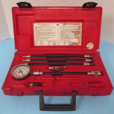 MAC Tools Compression Test Kit CT70 w/ Hard Case - NOT COMPLETE