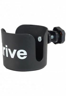 Drive Wheelchair Cup Holder Bottle Mug Glass Drink Armrest Fitting Mobility Aid