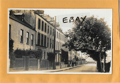 Early Real Photo Postcard Bowling Green Road Castletown Isle Of Man