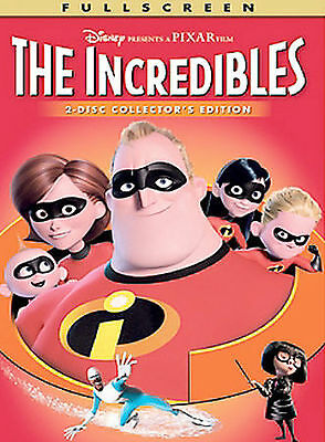 The Incredibles (Full Screen Two-Disc Co DVD