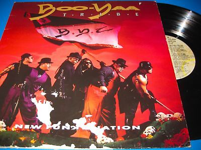 Boo-Yaa T.r.i.b.e.new Funky Nation.12'' Vinyl Lp Nm-