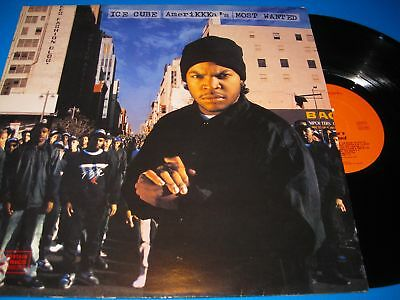 Ice Cube.amerikkka's Most Wanted.12'' Vinyl Lp Nm-