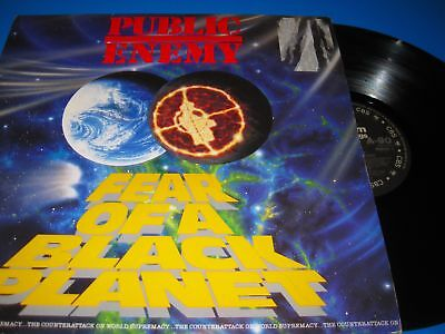Public Enemy.fear Of A Black Planet.12'' Vinyl Lp Nm-