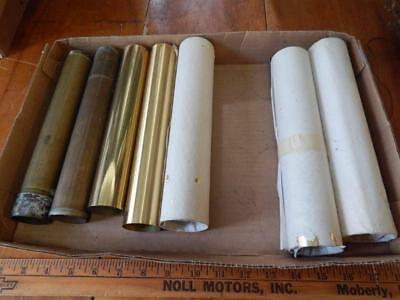 Group Lot of Grandfather Clock Pendulum Shells, X 7!