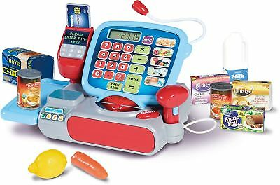 Casdon SUPERMARKET TILL Cash Register Shop Role Play Pretend Kids Toy/Gift BN